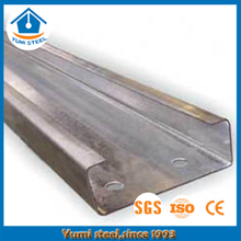 Hot-sales Galvanized C Purlins para estructura de acero